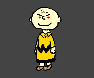 Menacing Charlie Brown