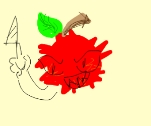 a murderous red fruit