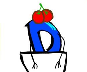 Drawing cherries on Drawception