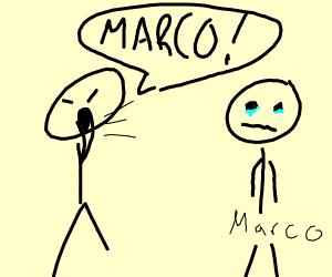 Polo yells at Marco