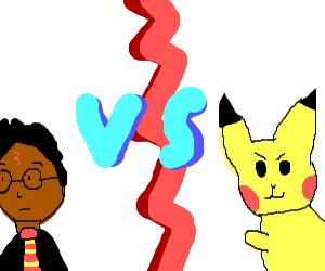 Harry Potter vs. Pikachu