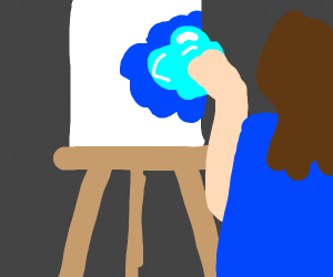 Drawing with a Blob