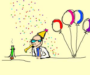 birthday scientist