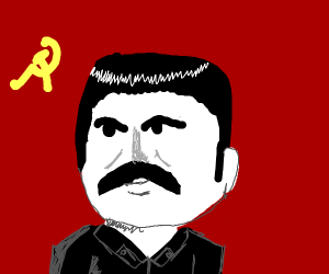 communist Russian as a person