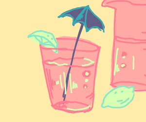 Pinkish Lemonade Drink