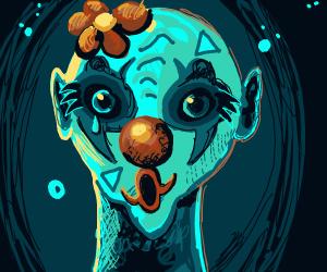 alien clown
