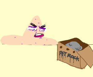 Patrick and his pet rock = horrible