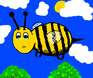 Bee is Unhappy