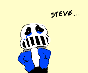sans is sorry