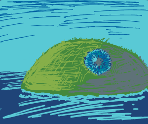 island that actually is an eye