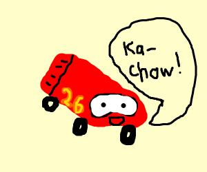 McQueen car
