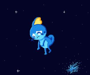 Sad sobble in space