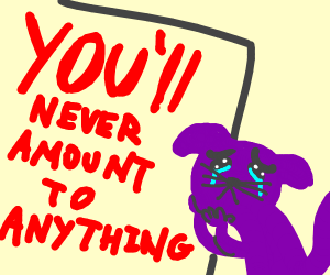 discouraging propaganda for sweet purple cat