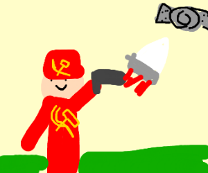 The ussr firing missiles at iss