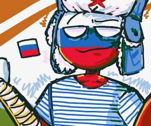 polandball russia irl
