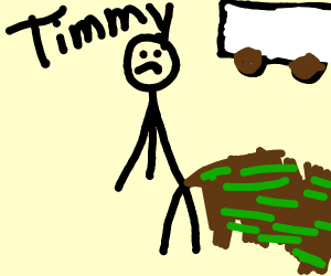 timmy has gotten dysentery