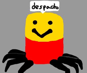 evil despacito spider