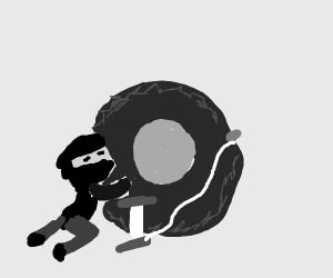 Spies Pump a tire
