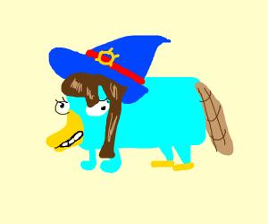 Akko as perry the platypus
