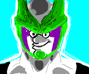 Peter Griffin as Perfect Cell