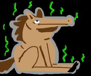 stinky horse