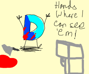 Drawception D found guilty of his actions