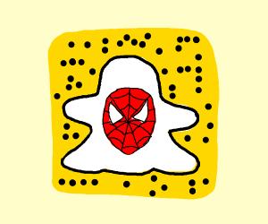 Spoderman's Snapchat code