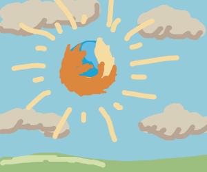 Firefox is now the sun