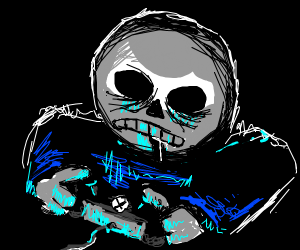 Sans Is Addicted To Xbox, Please Help Him