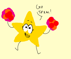 A Cheer-leading Star