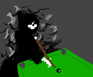 death playing pool