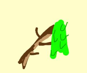 slime on a stick