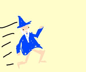 A wizard dash