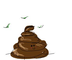 feces