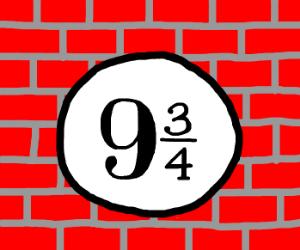 9 3/4
