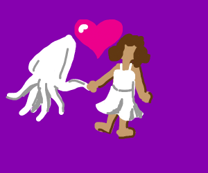 Squid and human love