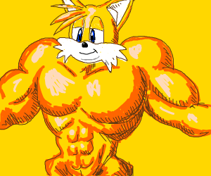 tails finally grew up