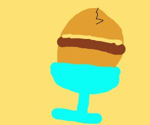 hamburger eggs