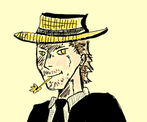 farmer in a suit