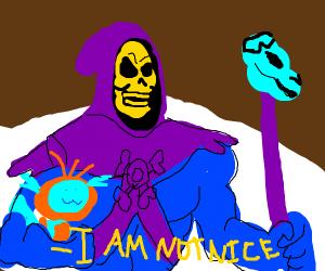 Skeletor calls himself bad