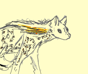 Hyena Sculptor