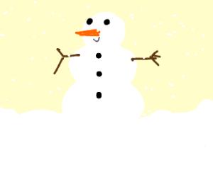 A Jolly Happy Snowman