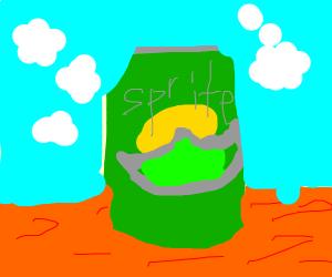 A Sprite Can