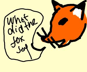 Fox tells pun