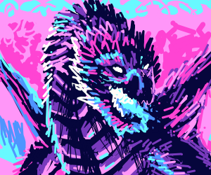 c00l multicolor dragon!