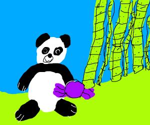 Panda but he's a candfy