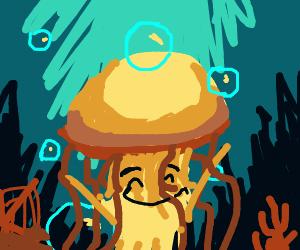 Happy jellyyfish