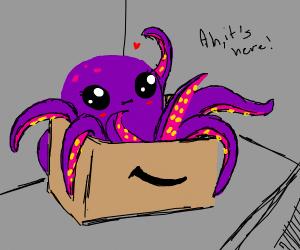 Octopus delivery via Amazon