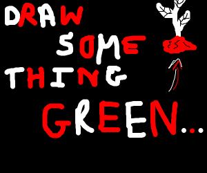 Draw Something Green