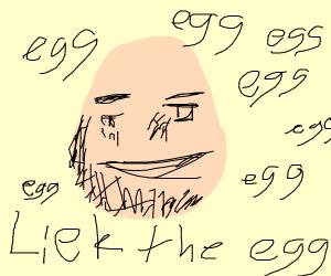 Egg meme from Instagram